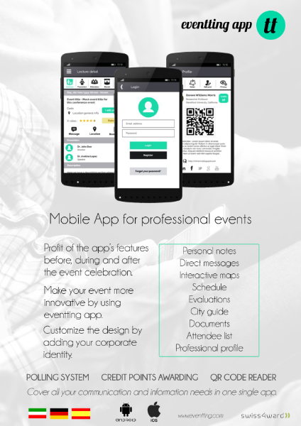 Eventting app