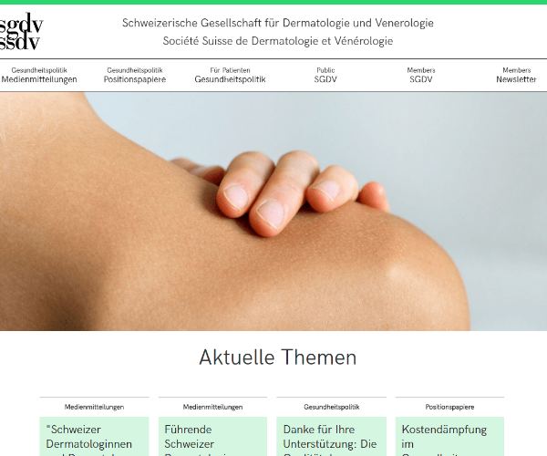 SGDV (Swiss Society of Dermatology and Venereology)